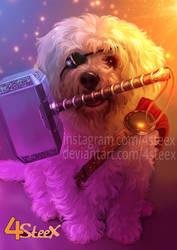 Commission: Thor dog