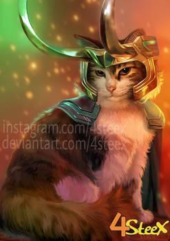 Commission: Loki cat