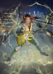 Street of rage 4 - Cherry hunter by sinho113