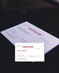 b card for business consultant