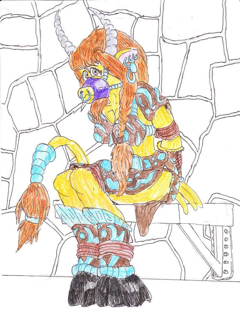 WARCRAFT Captured Maze Maiden by Godzilla713