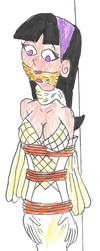 Trixie Tang Bridal Bound by Godzilla713