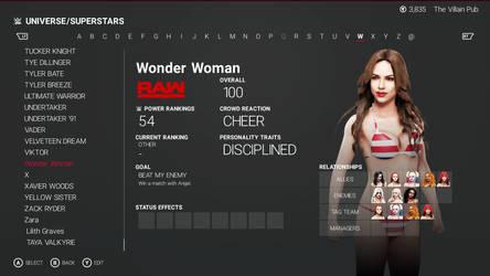 Wonder Woman biography by sctv45