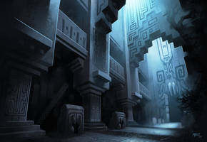 GtM - Temple Interior Concept by ATArts