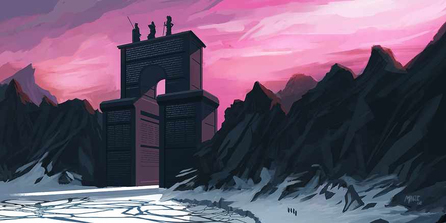 Mountain's Gate by ATArts