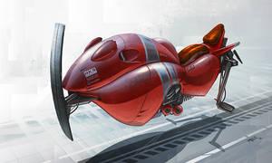 Red Speeder by ATArts