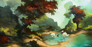 Livepainting Valley by ATArts