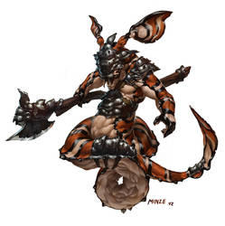 Naga Warrior by ATArts
