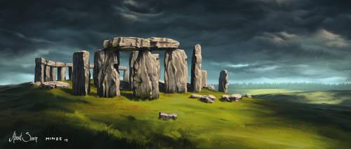 About Simon Stonehenge by ATArts