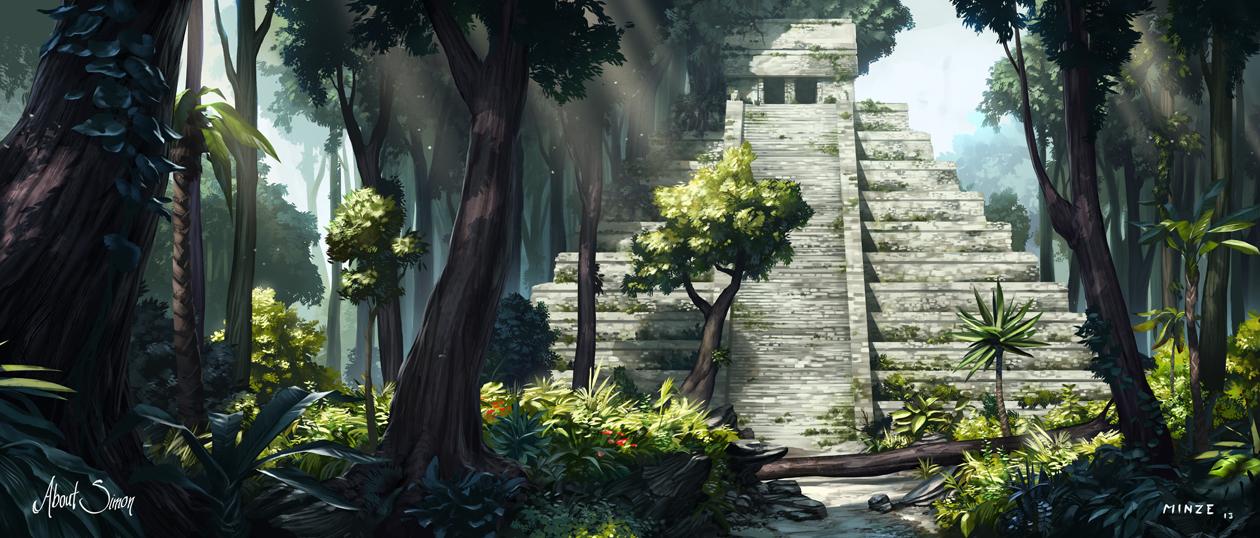 About Simon Maya Temple by ATArts