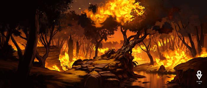 ATOL Fire scene