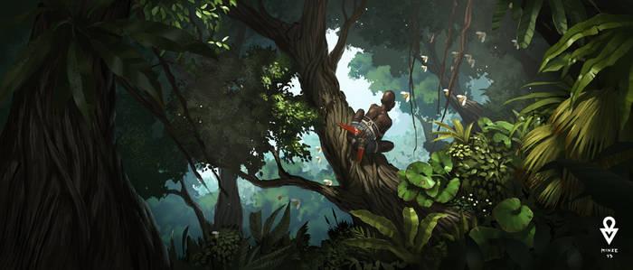 ATOL Jungle scene