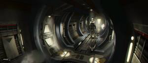 Sci Fi Corridor by ATArts