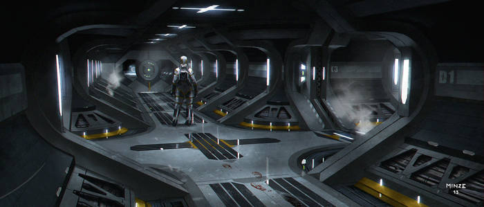 Sci Fi Corridor 2