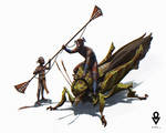 AT OL : Knights on bugs