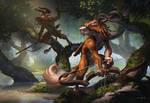 Faun  hunters