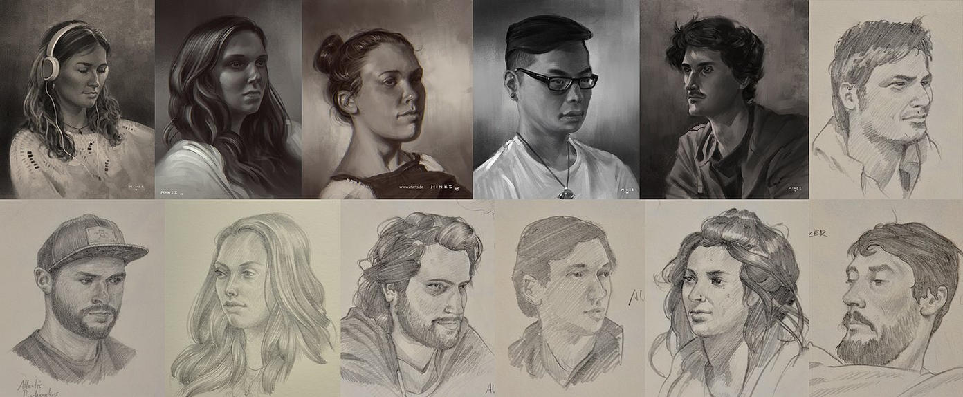 New Zealand Portraits by ATArts