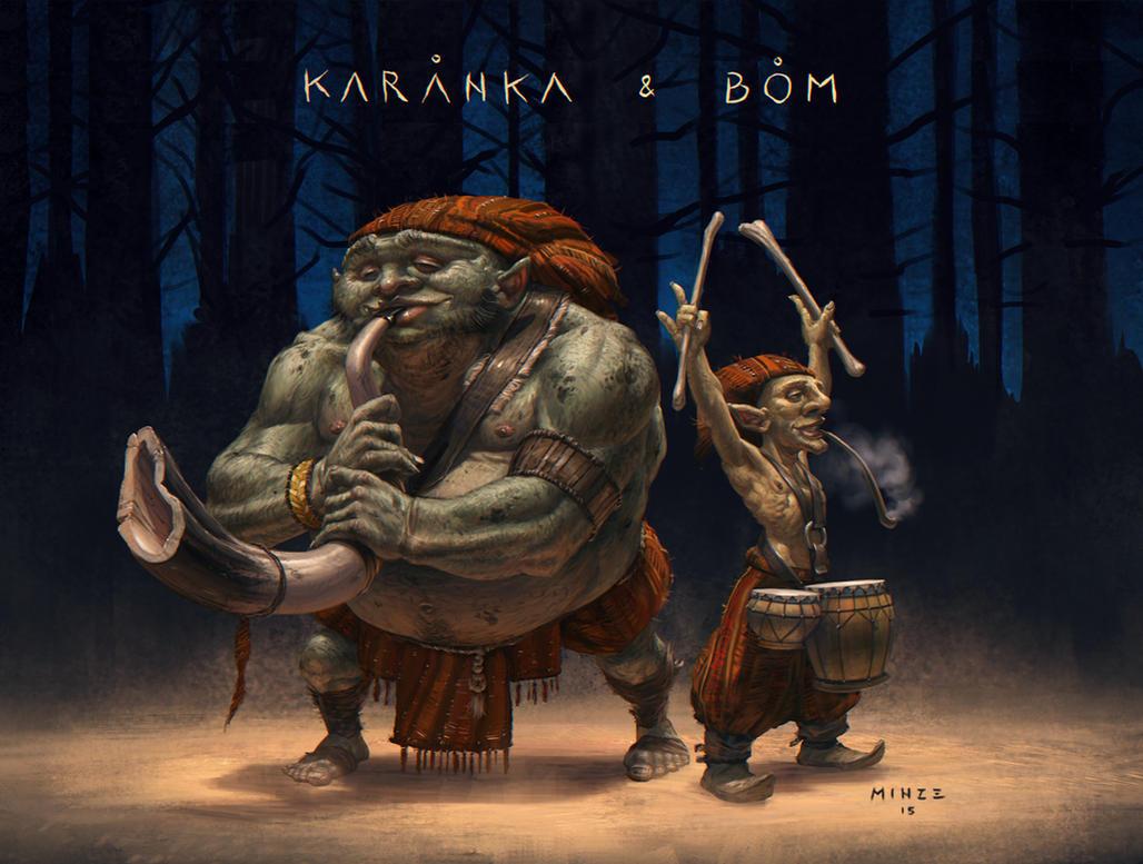 Karanka and Bom by ATArts