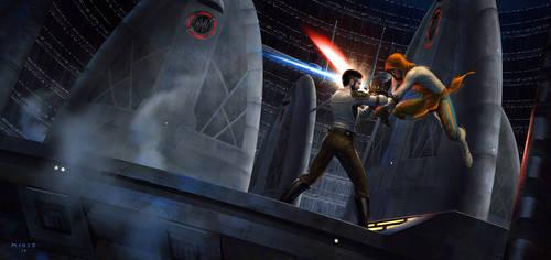 Star Wars Jedi Knight II: Jedi Outcast by ATArts