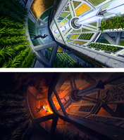Greenhouse in Space by ATArts
