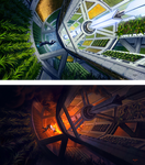 Greenhouse in Space