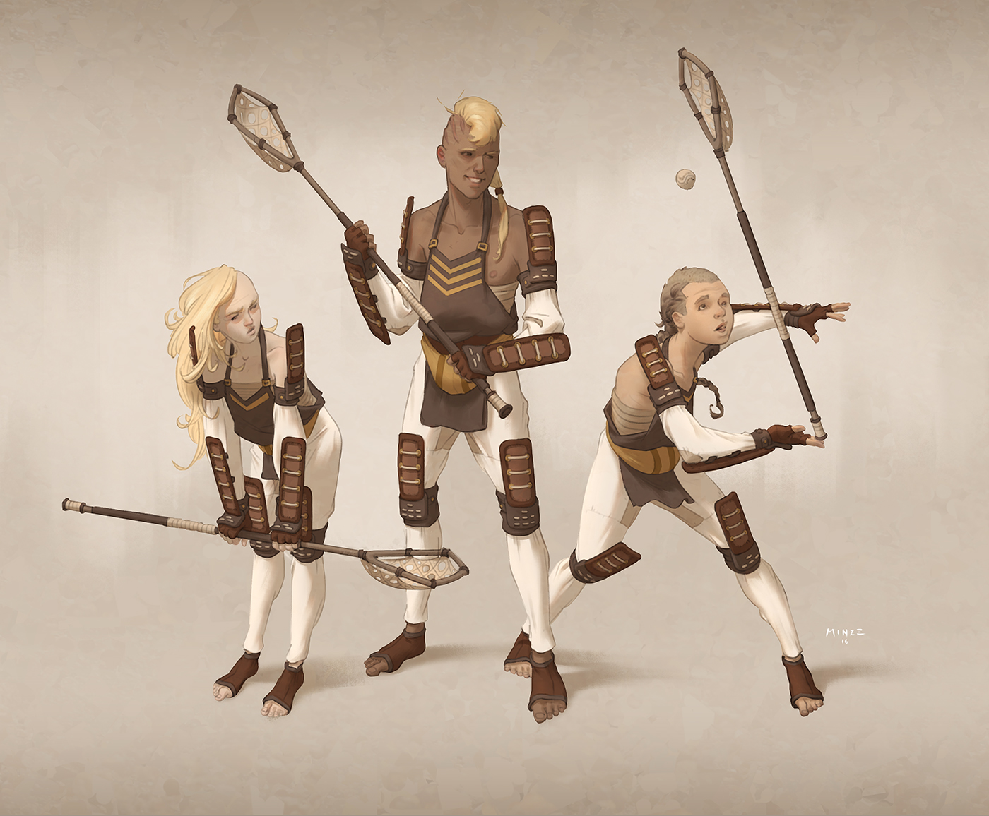 Team Lacrosse by ATArts