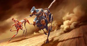 Centaur Cheetah Robot Vehicles