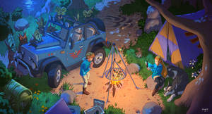 The Legend of Zelda : Camping in the Wild