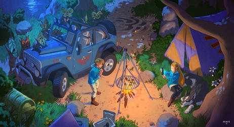 The Legend of Zelda : Camping in the Wild
