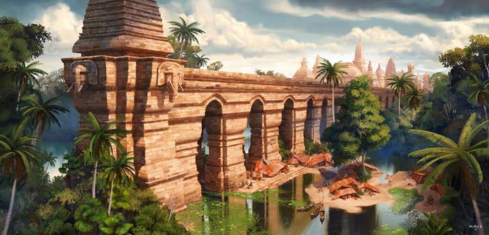 Abandoned bridge by ATArts