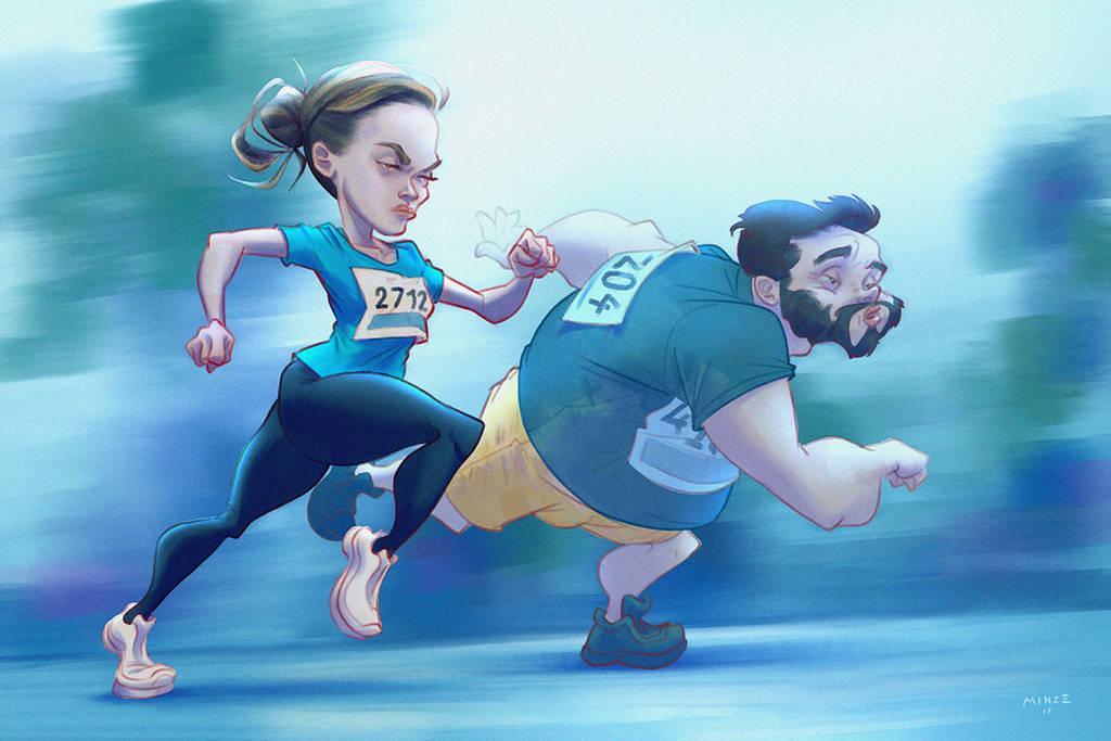 Run Girl Run by ATArts