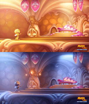 Maya The Bee: The Honey Games Concept Art