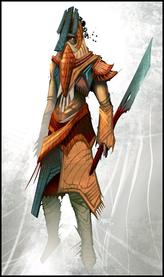 Swordsman Concept by ATArts