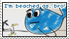 Beached As stamp by SkyebobPiepants