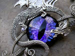Wire Wrap - Dragon with Super Color Shift Eye 2
