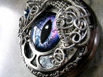 Wire Wrap - Custom Pocket Watch Eye Time Piece 2