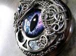 Wire Wrap - Custom Pocket Watch Eye Time Piece 2