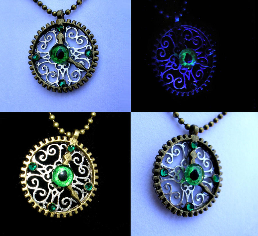 on by steampunk tanith art deviantart gear rohe gears necklace pendant