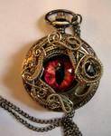 Custom for Lady ZK - Medusa Eye Watch