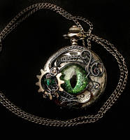 Steampunk Custom for Lord West - Watch Green by LadyPirotessa