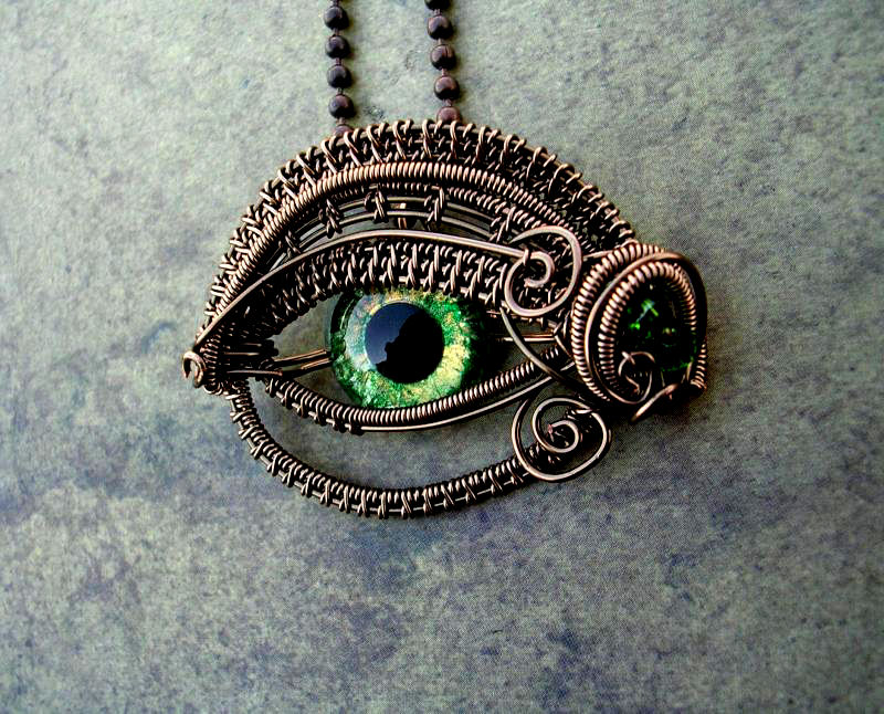 steampunk wallpaper eye - photo #7