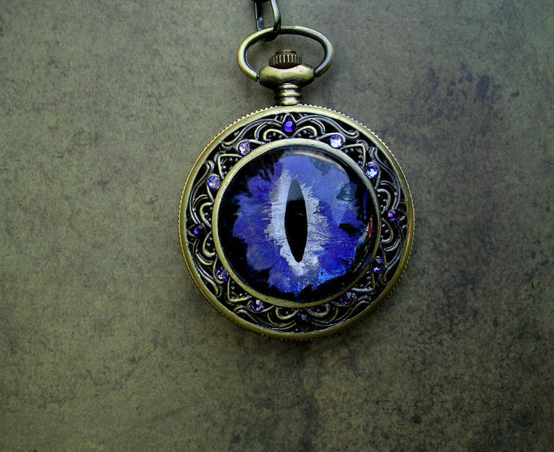 Van Gogh Inspired - Dragon Eye Sovereign Watch by LadyPirotessa