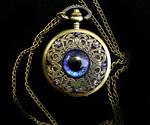 Purple Blue Super Shift - Regal Pocket Watch