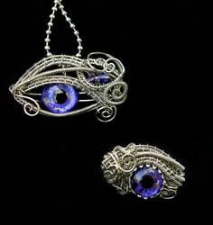 Custom Set for Lady Kerri - Pendant and Ring