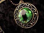 Prismatic Golden Royalty - Green Dragon Eye