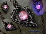 Pink Fairy Dream Drop - Purple Gunmetal