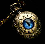 Blue Water Dragon - Nobility's Time Pocket Watch