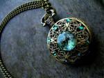 Betwixt Green Forest Opal Pocket Watch - DreamDrop