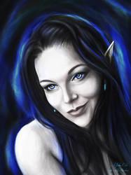 Self Portrait - Digital Charcoal OOTD 2021