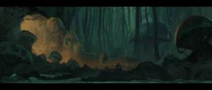Paint 8/10/13 - Forest Dweller
